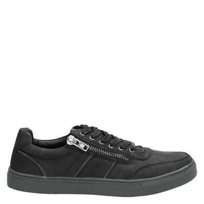 eve + adam heren sneakers zwart