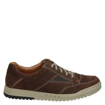 Clarks heren sneakers bruin
