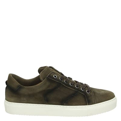 Greve heren sneakers taupe