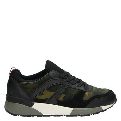 Hilfiger Denim heren sneakers zwart