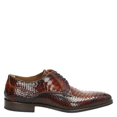 Lorenzi heren nette schoenen cognac