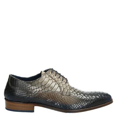 Lorenzi heren nette schoenen bruin