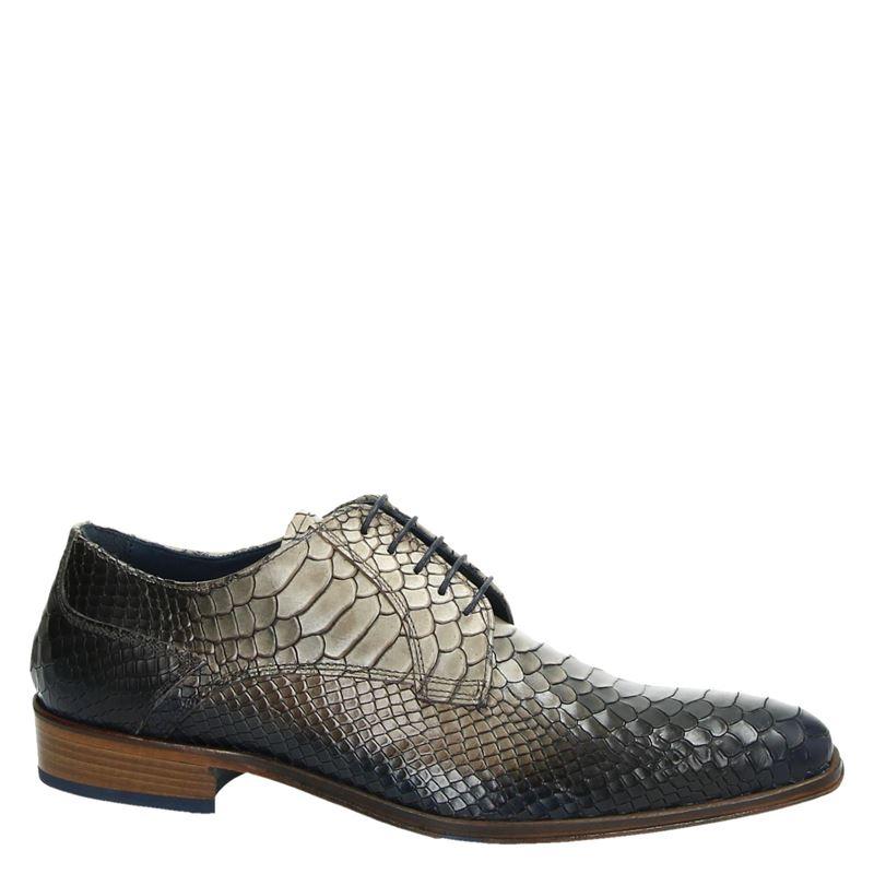 Lorenzi - Lage nette schoenen - Bruin