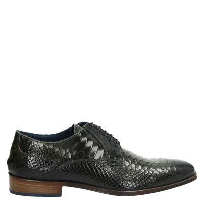 Lorenzi heren nette schoenen groen
