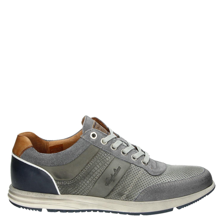 Grijze Subvention Baskets Chaussures Australian TZ8Dl