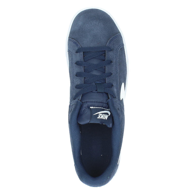 Nike Cour Généreux Bleu Bas Sue Baskets s6xeVt6x
