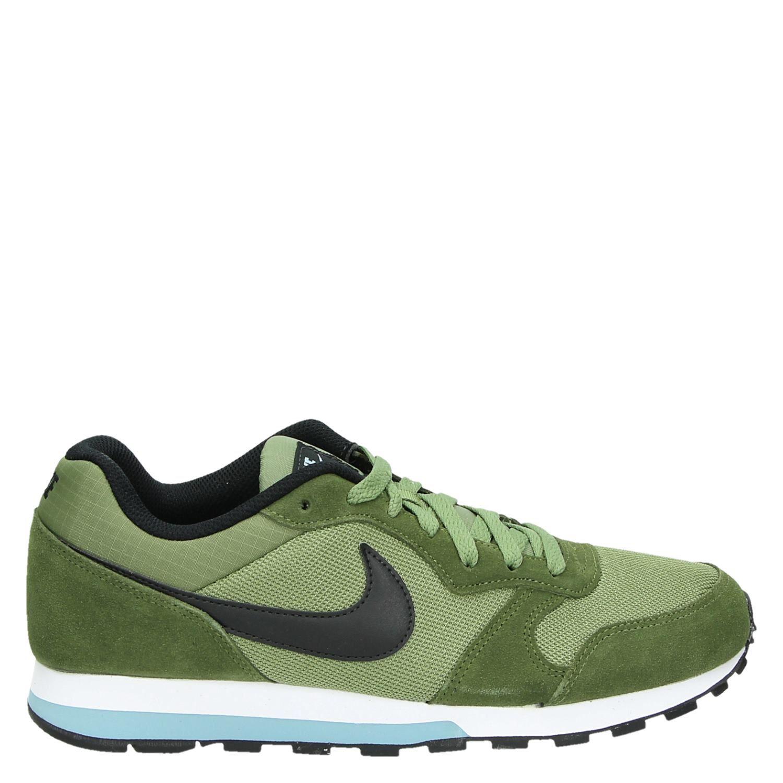 Nike MD Runner 2 heren lage sneakers groen 9e6023d2a4c3d