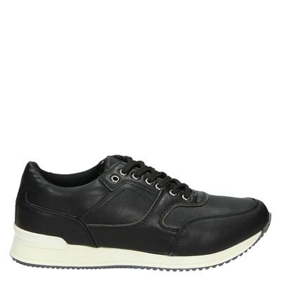 eve + adam heren sneakers zwart