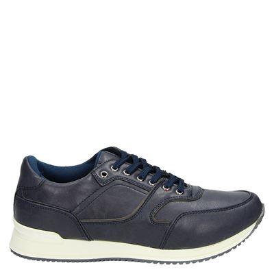 eve + adam heren sneakers blauw