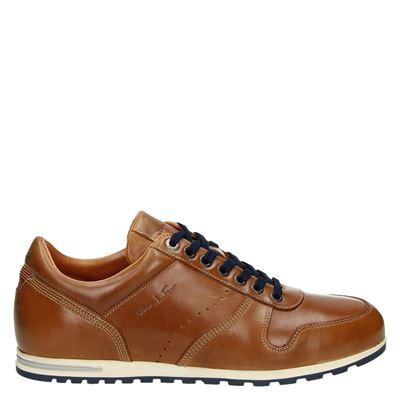 Van Lier heren sneakers cognac