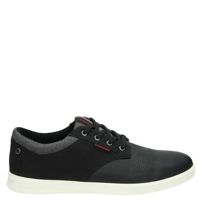 Jack & Jones heren sneakers zwart