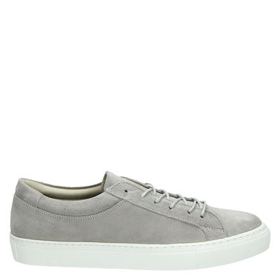 Jack & Jones heren veterschoenen grijs