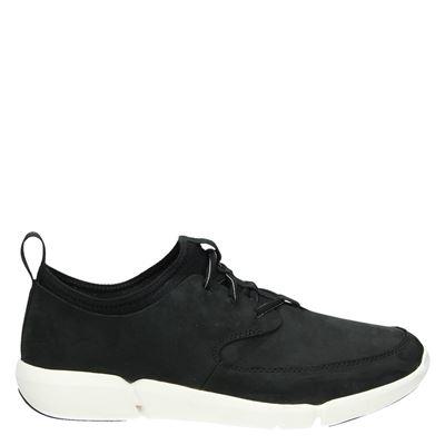 Clarks heren sneakers zwart