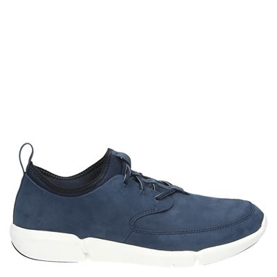 Clarks heren sneakers blauw