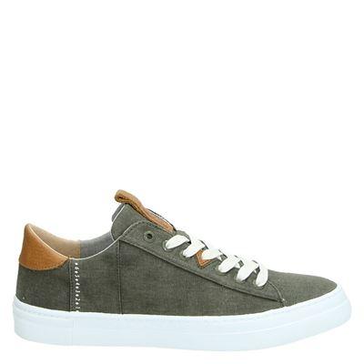 Hub heren sneakers groen