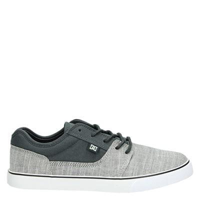 DC heren veterschoenen grijs