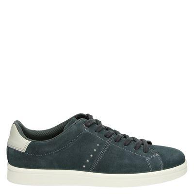 Ecco heren lage sneakers grijs