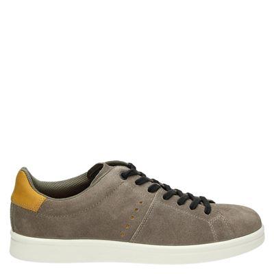Ecco heren sneakers taupe