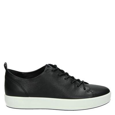 Ecco heren lage sneakers zwart