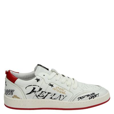 Replay heren sneakers wit