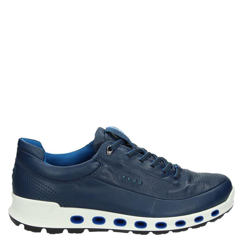 Ecco Ecco 2.0 Bleu Chaussures Basses yuw8Ma3dnc
