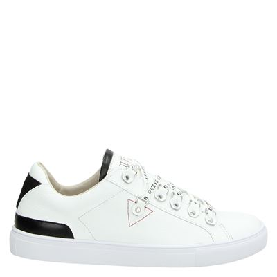 Guess heren sneakers wit