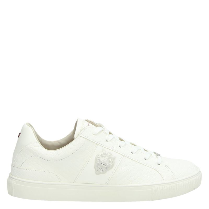 Guess Liuss B - Lage sneakers - Wit