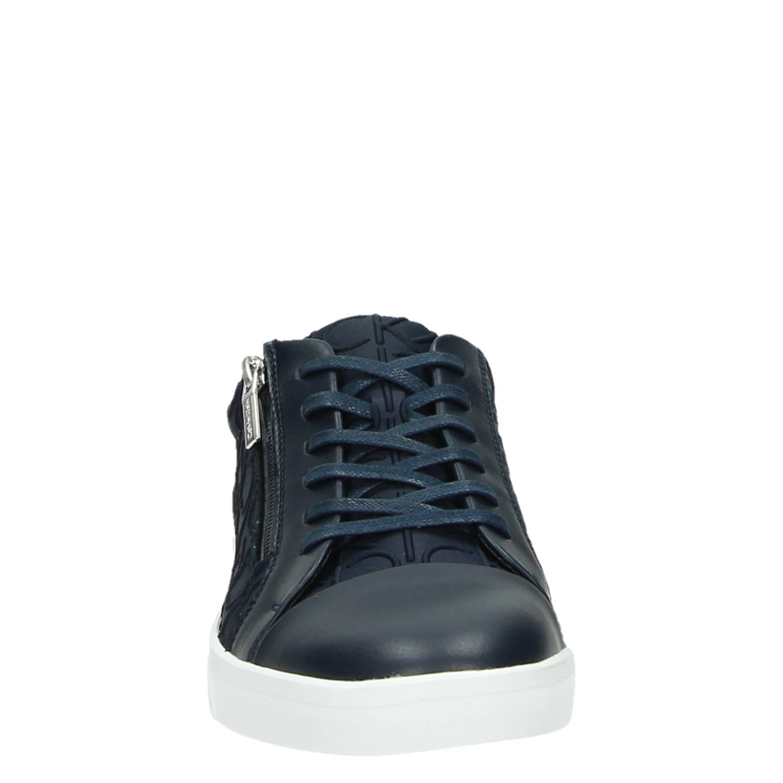 Ibrahim Sneakers Blauw Heren Lage Calvin Klein ikuPXZ