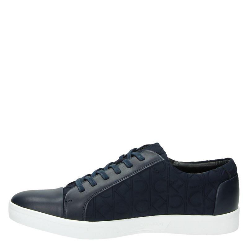 Calvin Klein Ibrahim - Lage sneakers - Blauw
