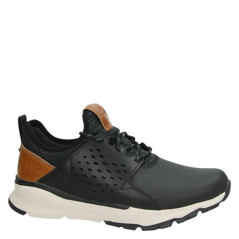 Skechers Relven - Hemson - Lage sneakers - Zwart