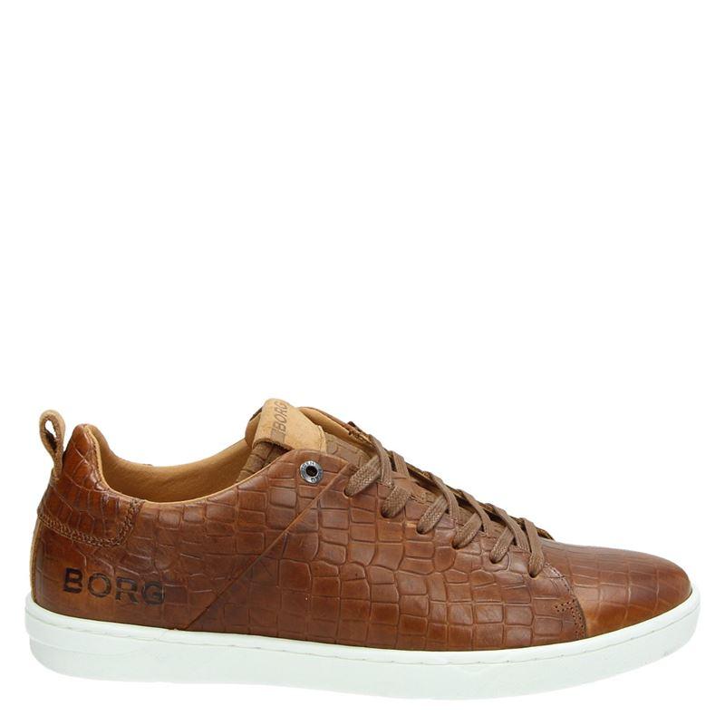 Bjorn Borg Kendrick Croco - Lage sneakers - Cognac