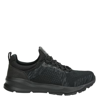 Skechers heren sneakers zwart