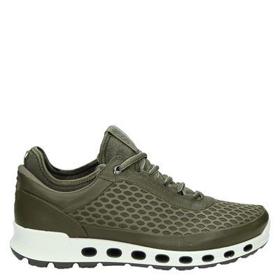 Ecco heren lage sneakers groen