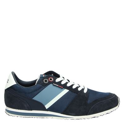 Hilfiger Denim heren sneakers blauw