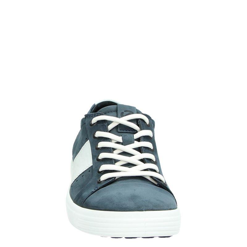 Ecco Soft 7 - Lage sneakers - Blauw