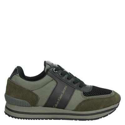 Calvin Klein heren sneakers groen