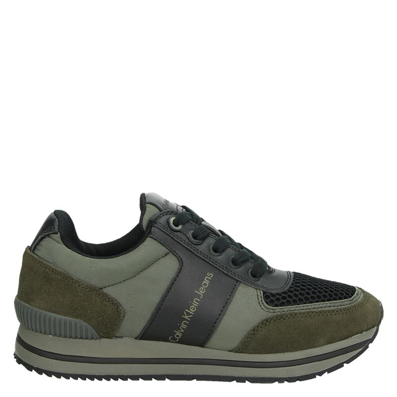 Calvin Klein Estez - Lage sneakers - Groen