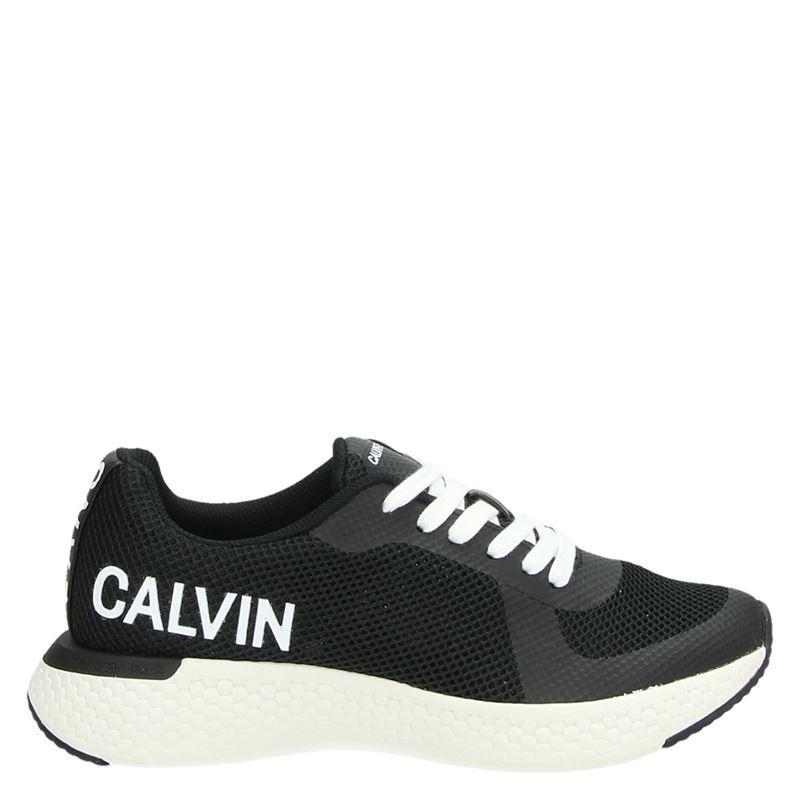 Calvin Klein Amos - Lage sneakers - Zwart