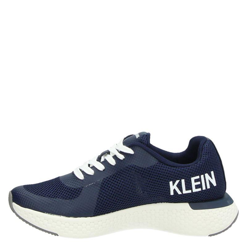 Calvin Klein Amos - Lage sneakers - Blauw