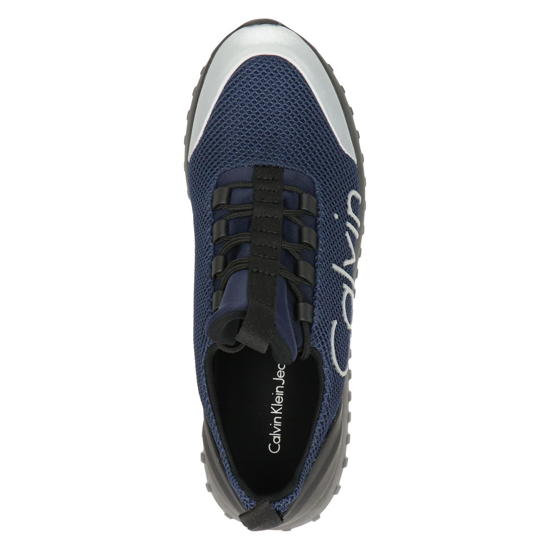 Calvin Klein Ron - Lage sneakers voor heren - Blauw QzCkxLs