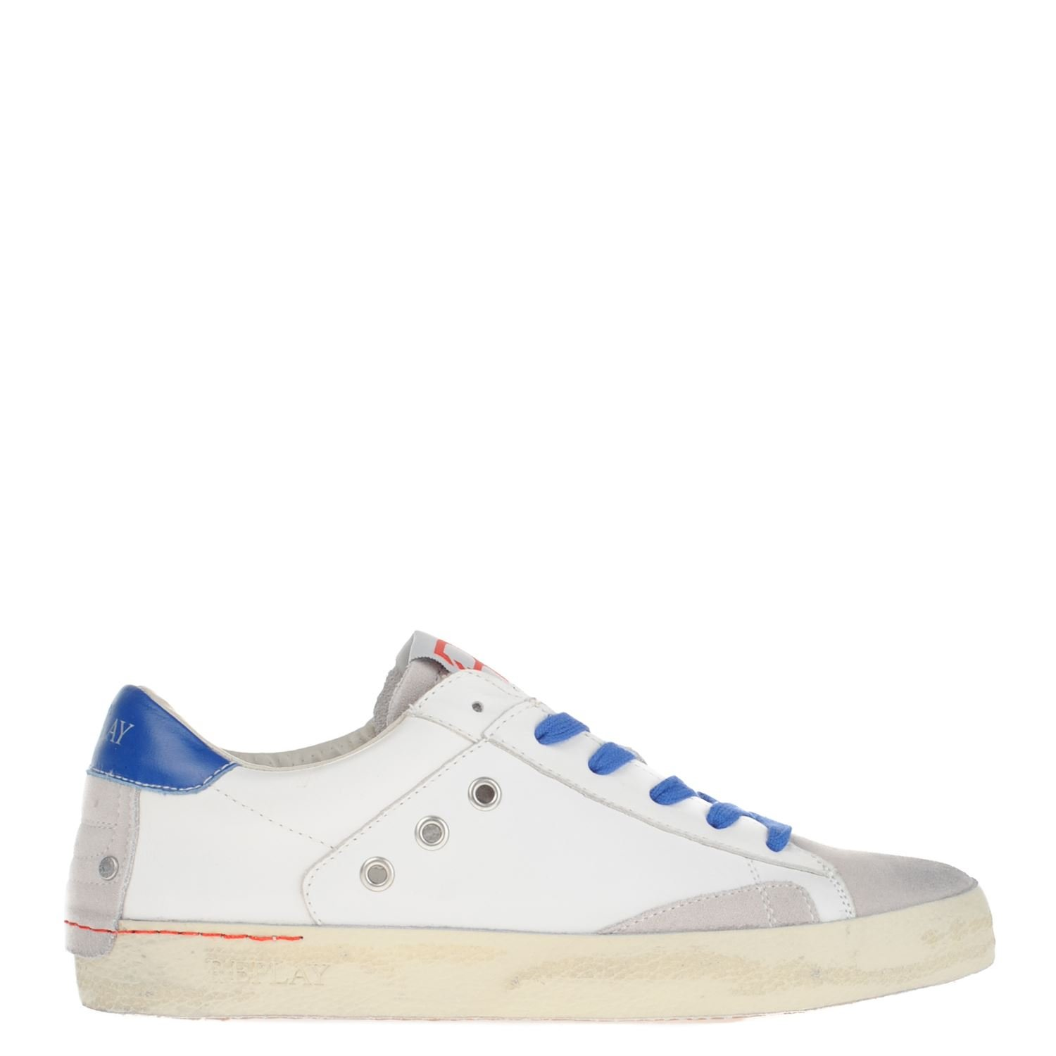 055d591cb7e Replay heren lage sneakers wit