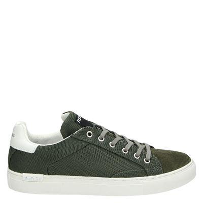 Replay heren sneakers groen