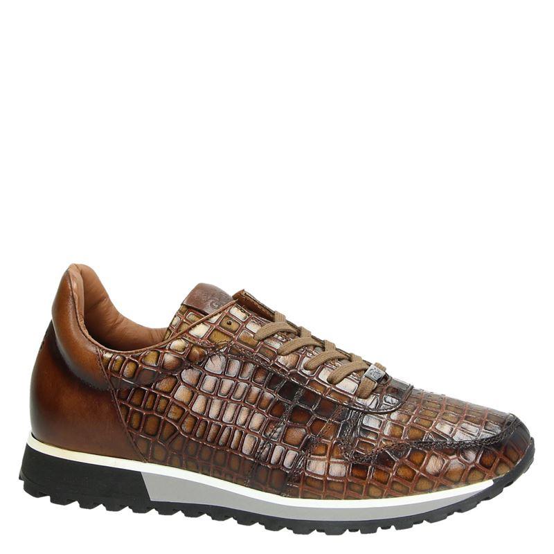 Giorgio - Lage sneakers - Cognac