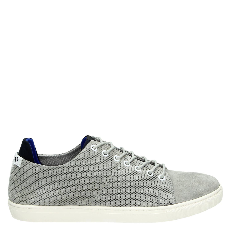 Replay heren lage sneakers grijs