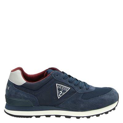 Guess heren sneakers blauw