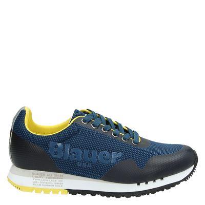 Blauer heren sneakers blauw