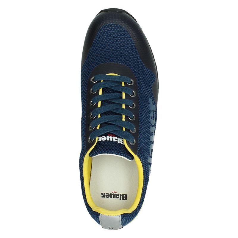 Blauer Denver 01 - Lage sneakers - Blauw