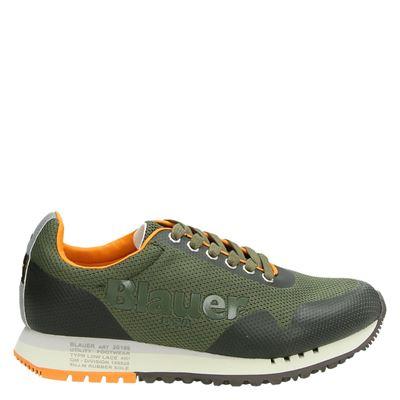Blauer heren sneakers kaki