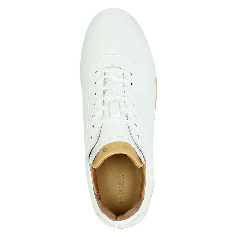 Rehab Zach leather tumble - Lage sneakers - Wit