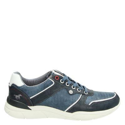 Mustang heren sneakers blauw
